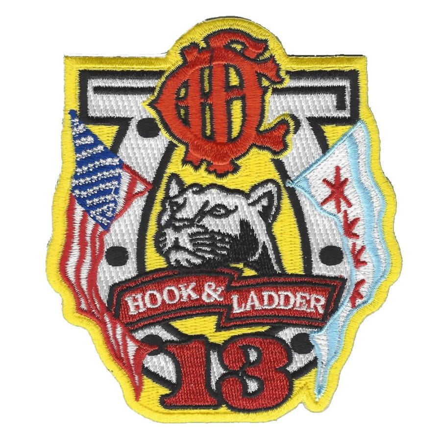 Chicago Fire Dept. - Hook & Ladder 13 - Patch / Aufnäher