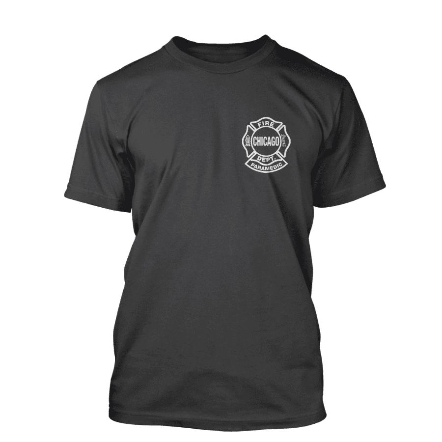 Chicago Fire Dept. Paramedic - T-Shirt in dunkelgrau