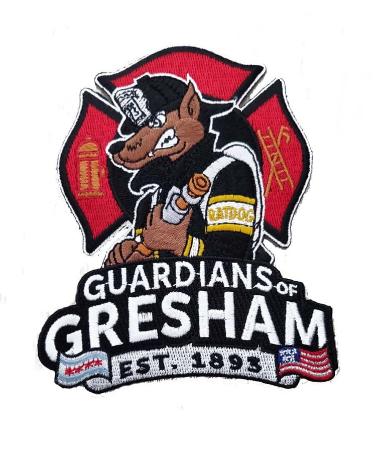 Chicago Fire Dept. - Engine 73 Gresham - Patch