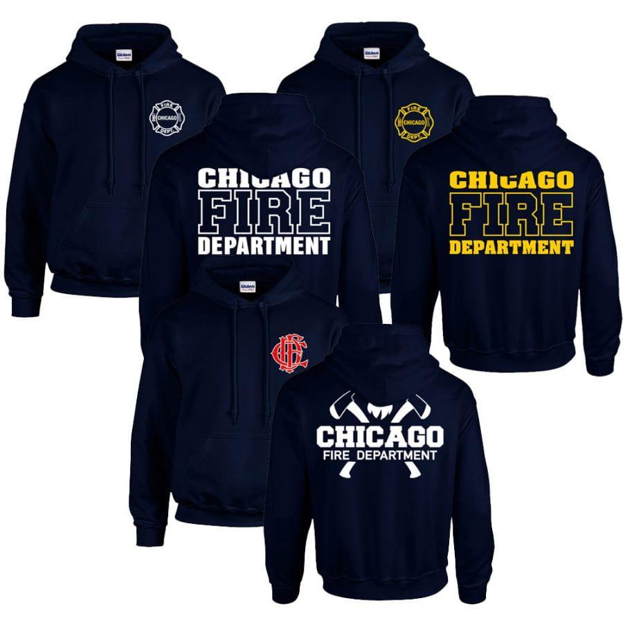 Chicago Fire Dept. - Sweater Spar Set