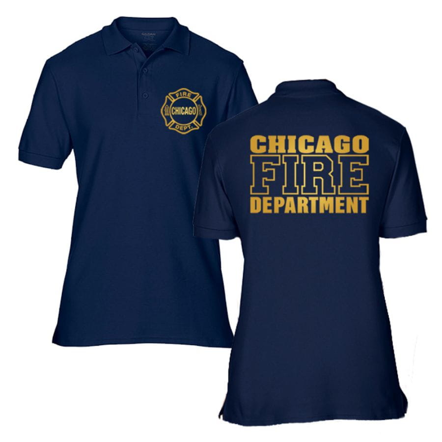 Chicago Fire Dept. - Poloshirt (Gold Edition)