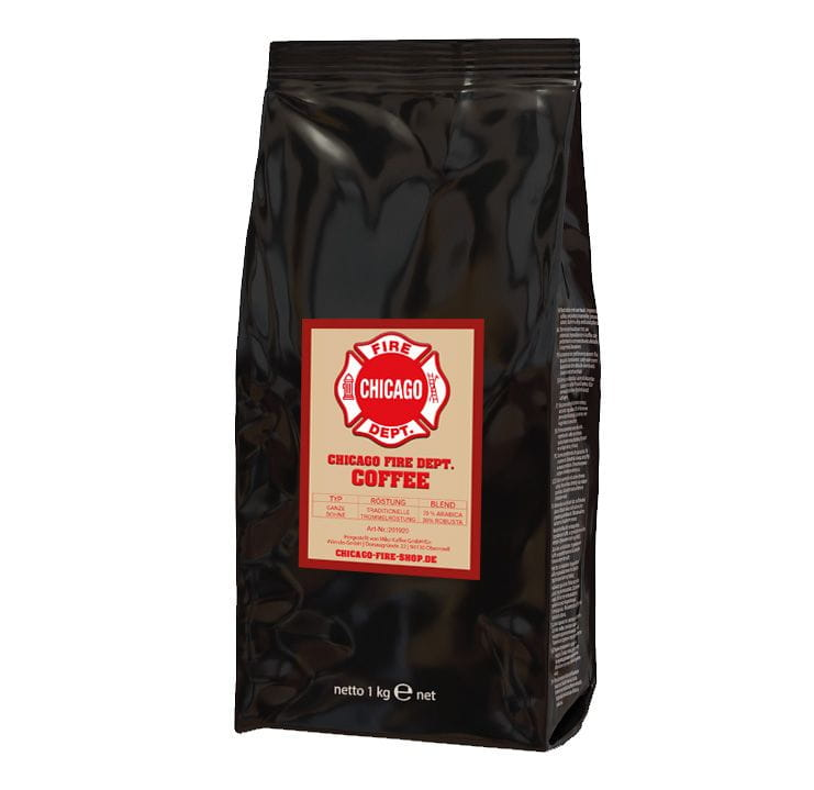 Chicago Fire Department - Coffee - Bean - 1kg