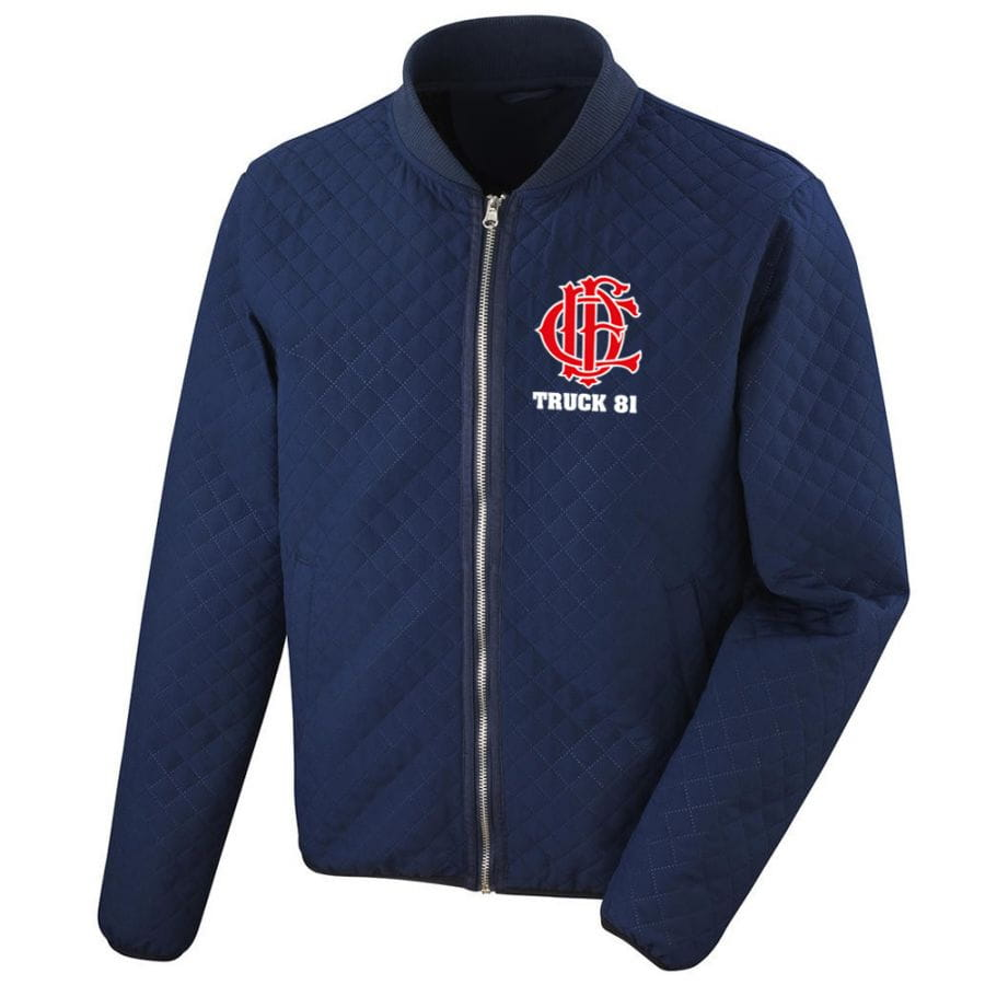 Chicago Fire Dept. - Truck 81 quilted jacket