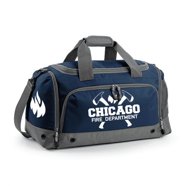 Chicago Fire Dept. - Sports bag with axe motif