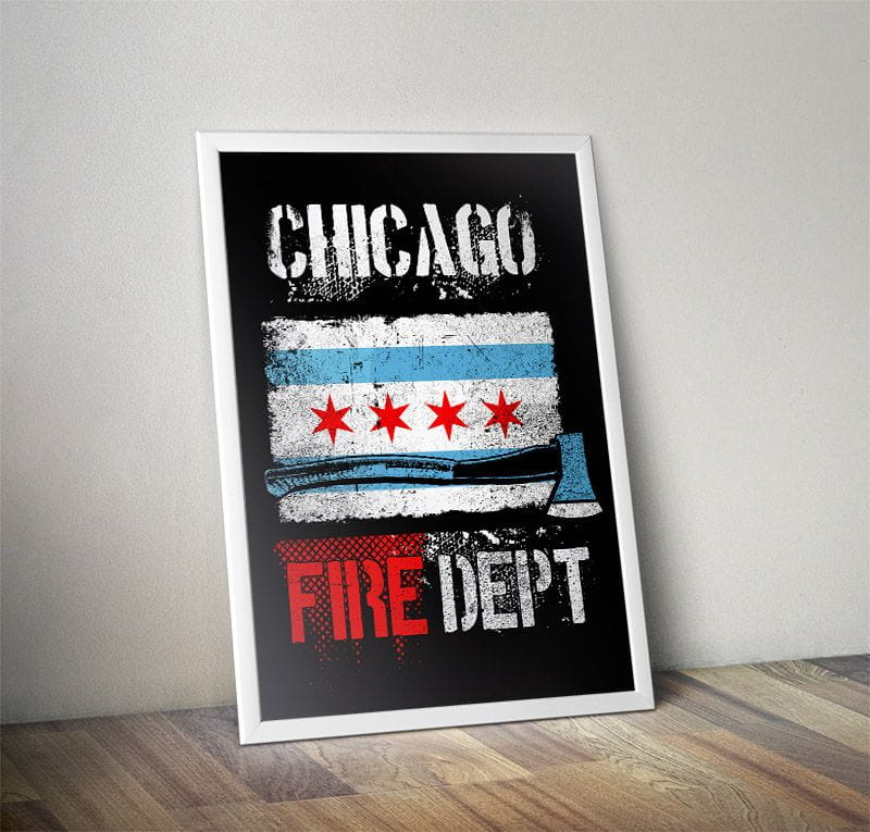 Chicago Fire Dept. - Poster (A1 - 59,4 cm x 84,1 cm)
