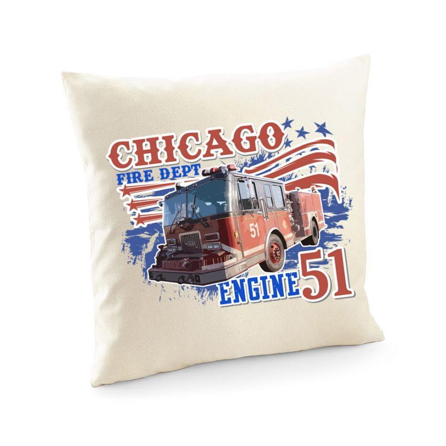 Chicago Fire Dept. - Engine 51 - Kissenbezug