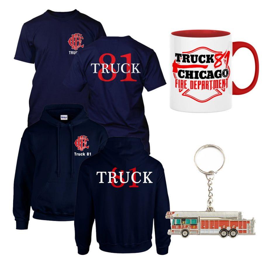Chicago Fire Dept. - Spar Set (Truck 81)