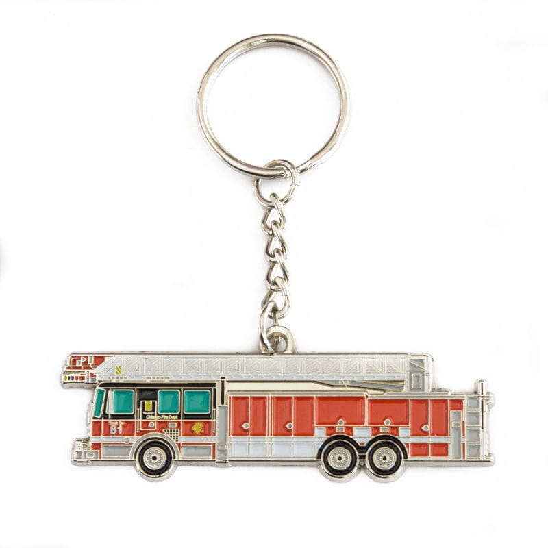Chicago Fire Dept. - Truck 81 - Key fob