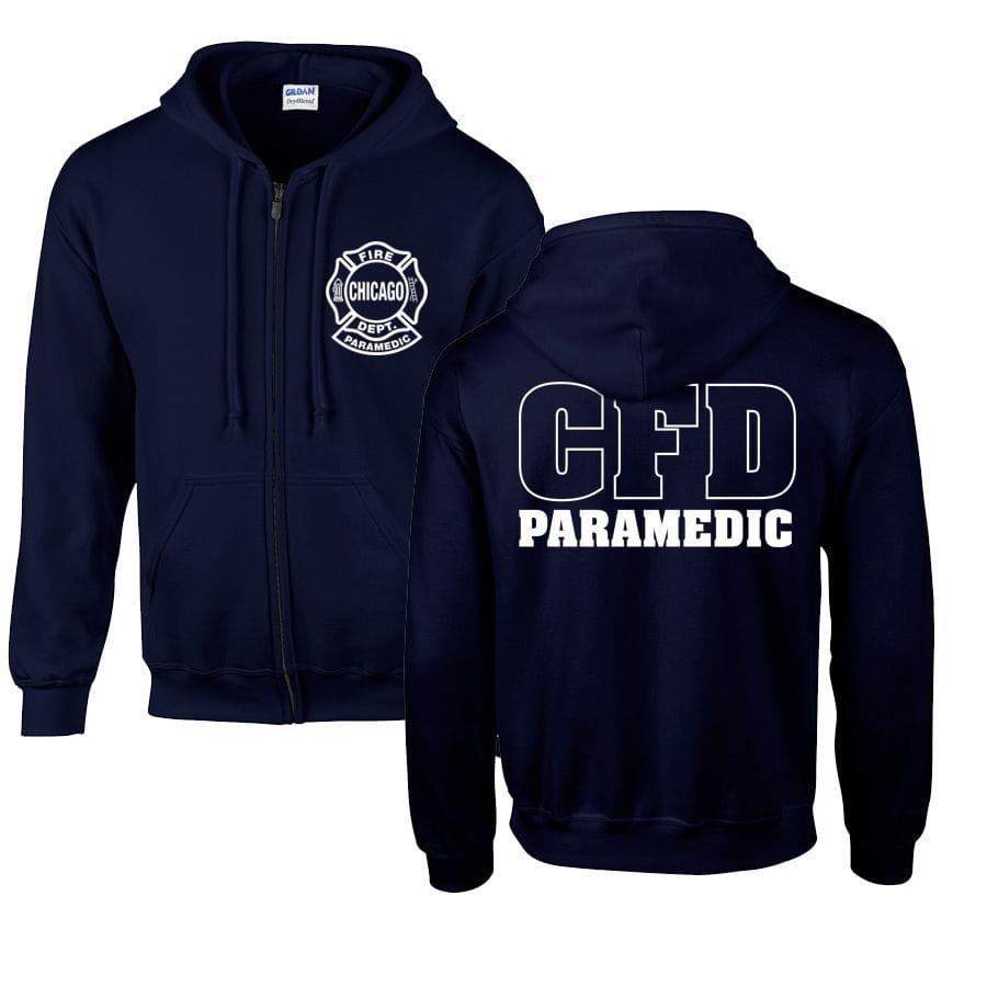 Chicago Fire Dept. Paramedic - Sweat Jacket