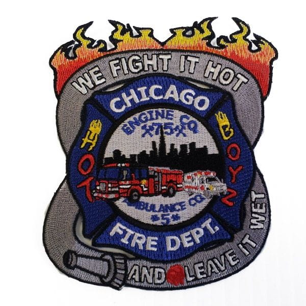 Chicago Fire Dept. - Engine 75 Patch / Patch