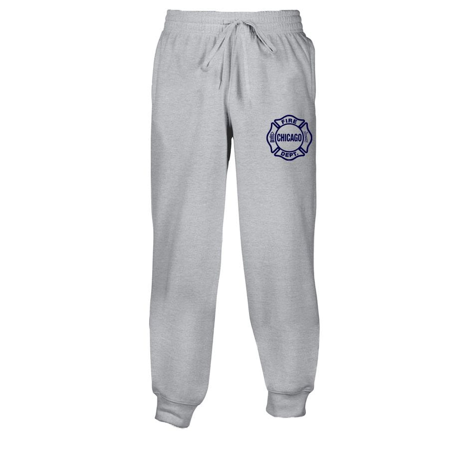 Chicago Fire Dept. - Men's sweatpants in grey
