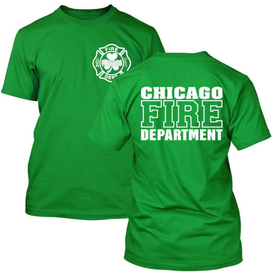 Chicago Fire Dept. - T-Shirt (St. Patricks Day Edition)