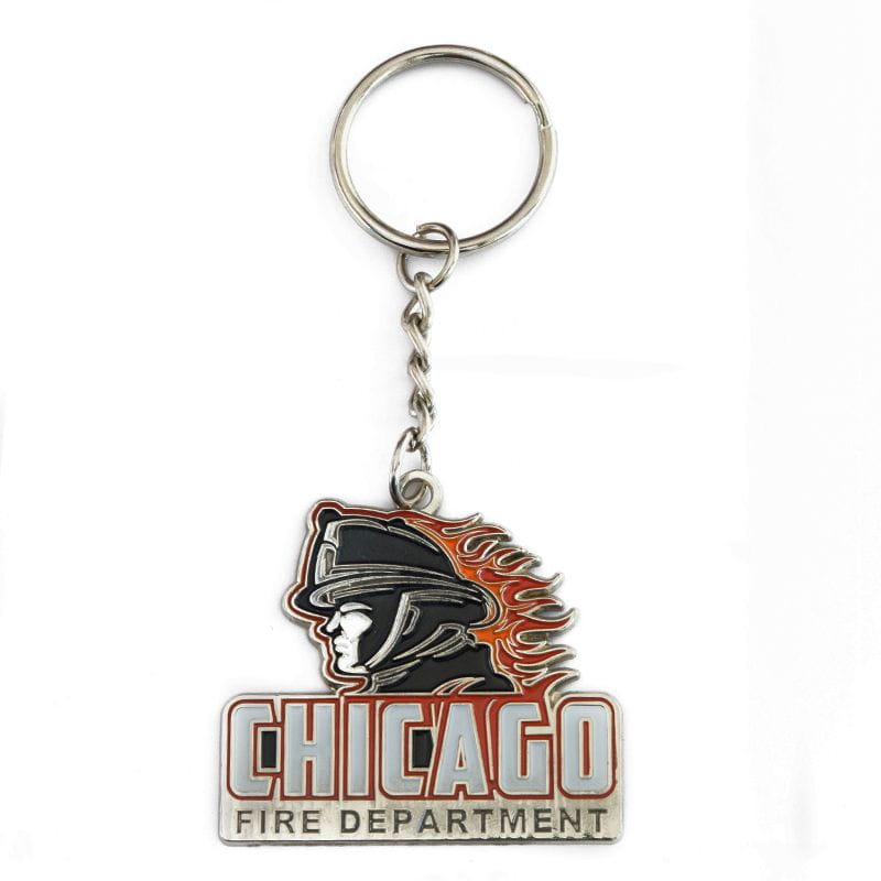 Chicago Fire Dept. - Design Keyring Pendant