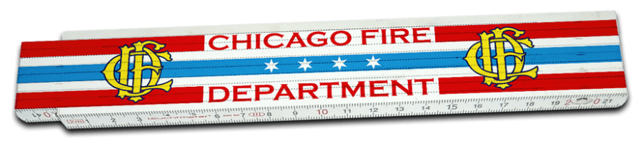 Chicago Fire Department - folding rule