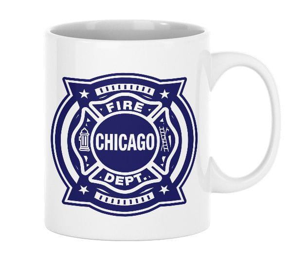 Chicago Fire Dept. - Tasse aus Keramik