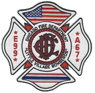 Chicago Fire Dept. - Engine 99, Ambulance 67 - Patch / Patch