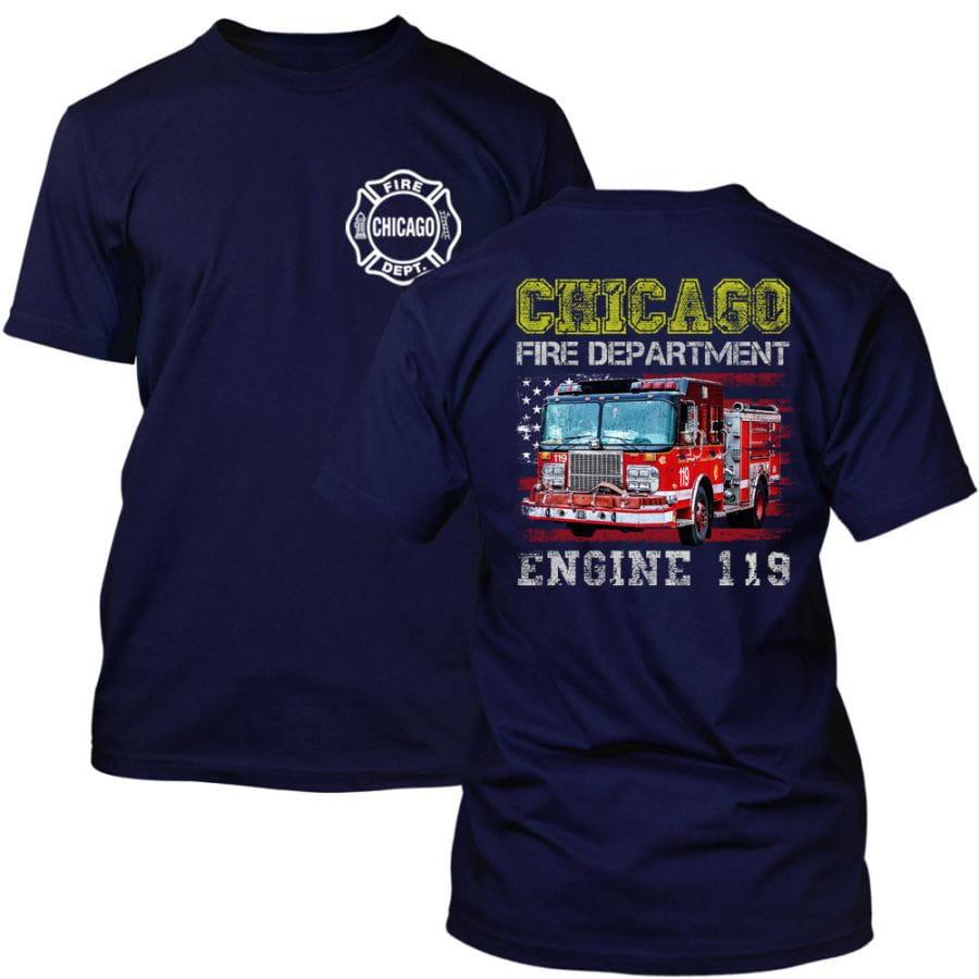 Chicago Fire Dept. - Engine 119 T-Shirt für Kinder