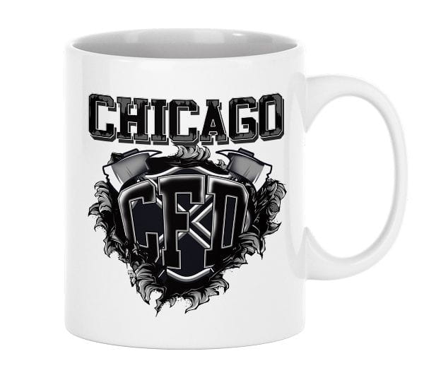 Chicago CFD - ceramic cup