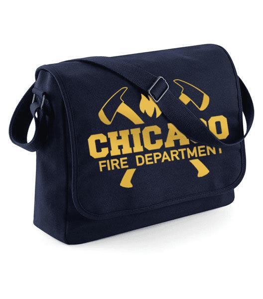 Chicago Fire Dept. - Messenger Bag (Gold Edition)