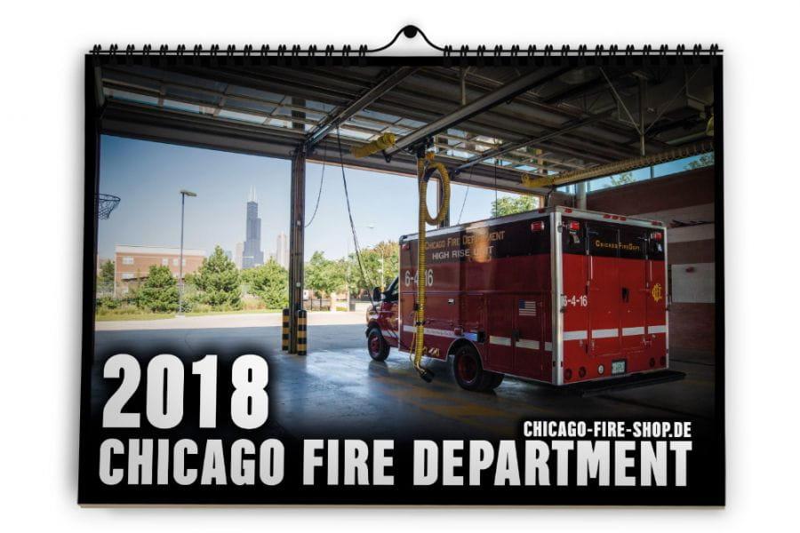 Chicago Fire Department - Calendar 2018