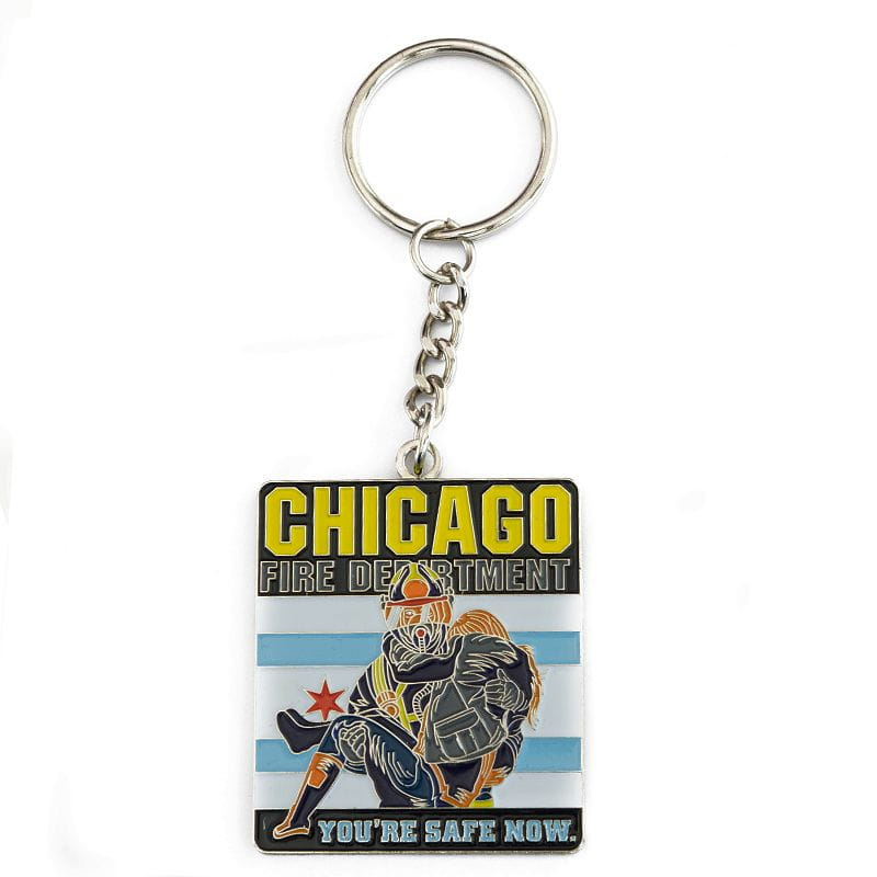 Chicago Fire Dept. - You're Safe Now - Key fob