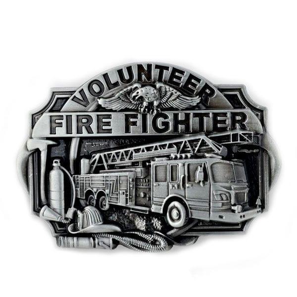 Firefighter Metal Belt Buckle
