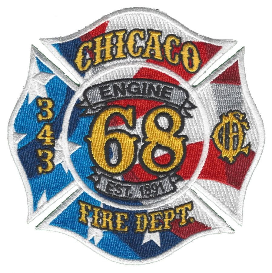 Chicago Fire Dept. - Engine 68 - Patch / Patch
