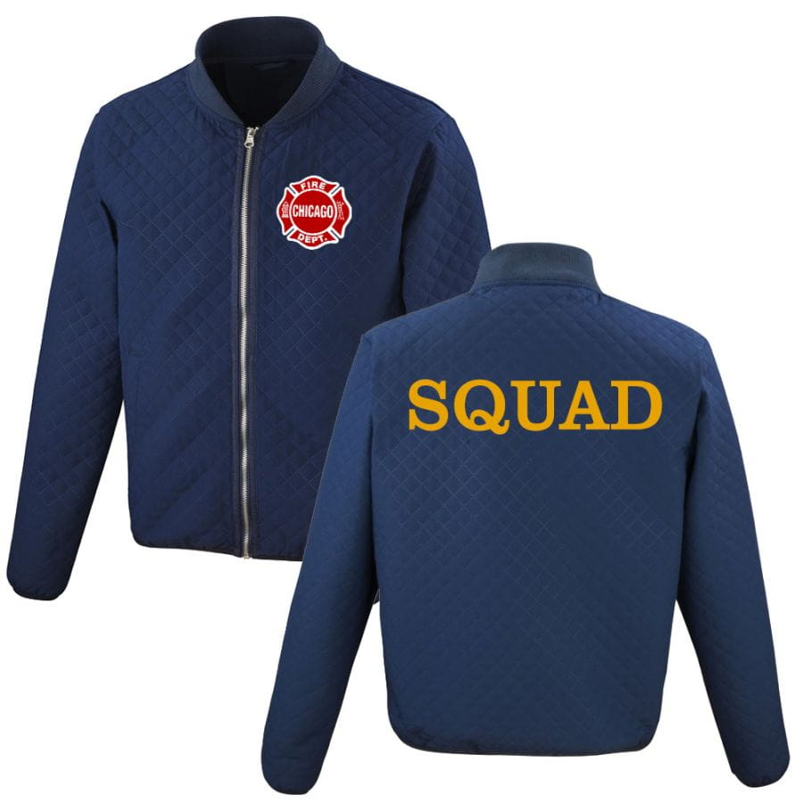 Chicago Fire Dept. - Squad Steppjacke (2020)