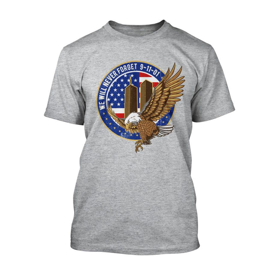 9/11 - We will never forget - T-Shirt