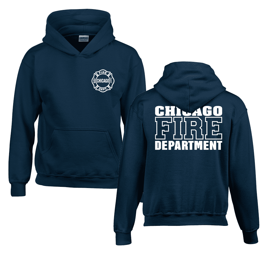 Chicago Fire Dept. - Hooded Sweater for Children