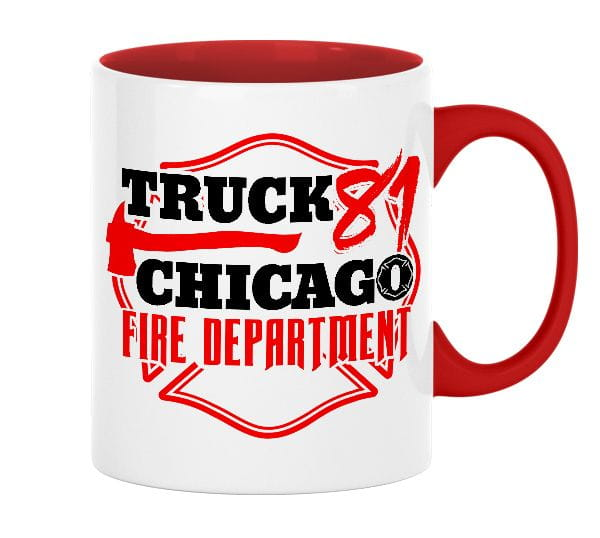 Chicago Fire Dept. - Truck 81 - Ceramic mug