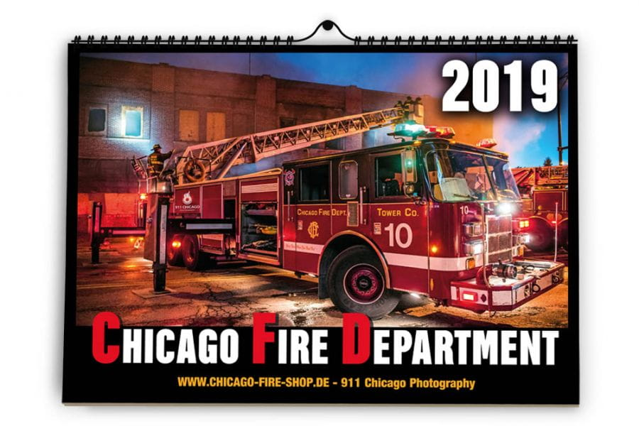 Chicago Fire Department - Calendar 2019