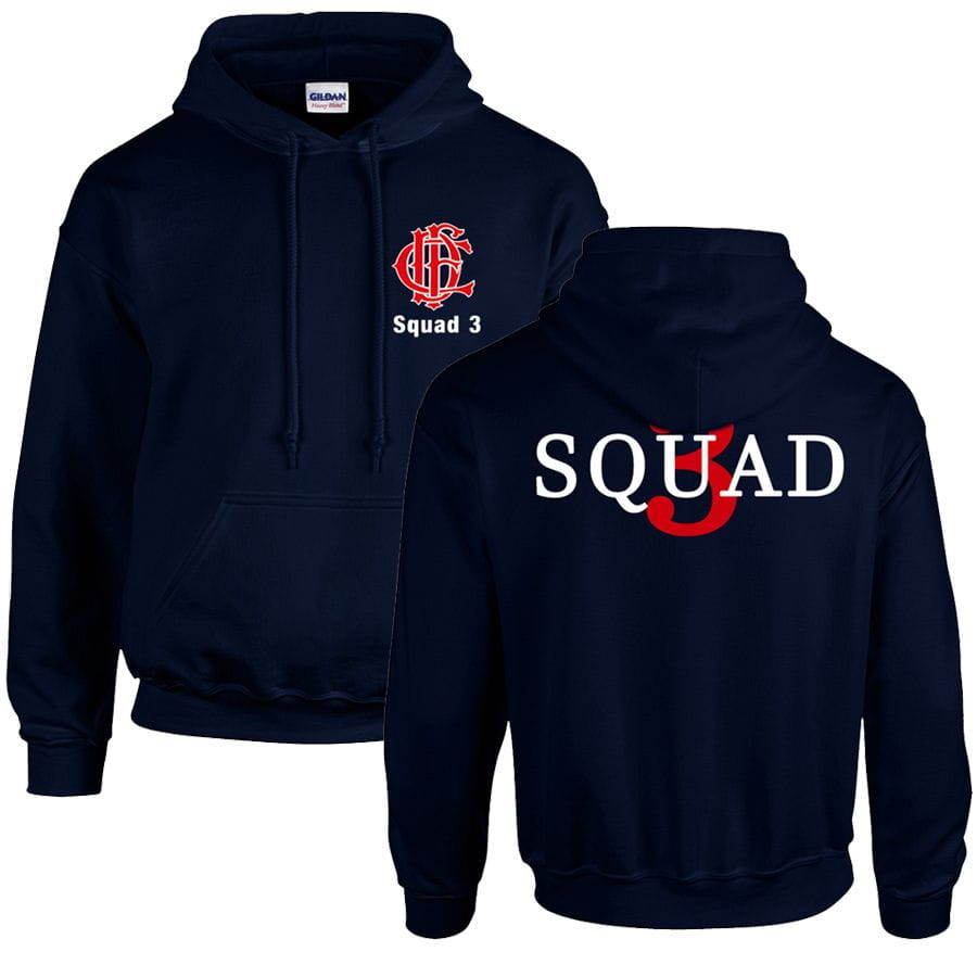 Chicago Fire Dept. - Squad 3 Hooded Sweater