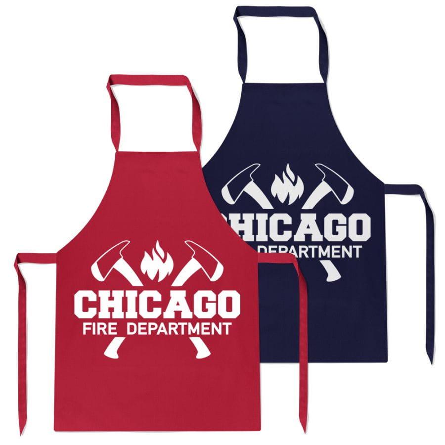 Chicago Fire Dept. - BBQ Grillschürze