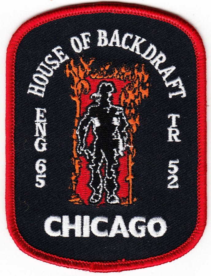 Chicago Engine 65, Truck 52 - House of Backdraft - Patch / Patch
