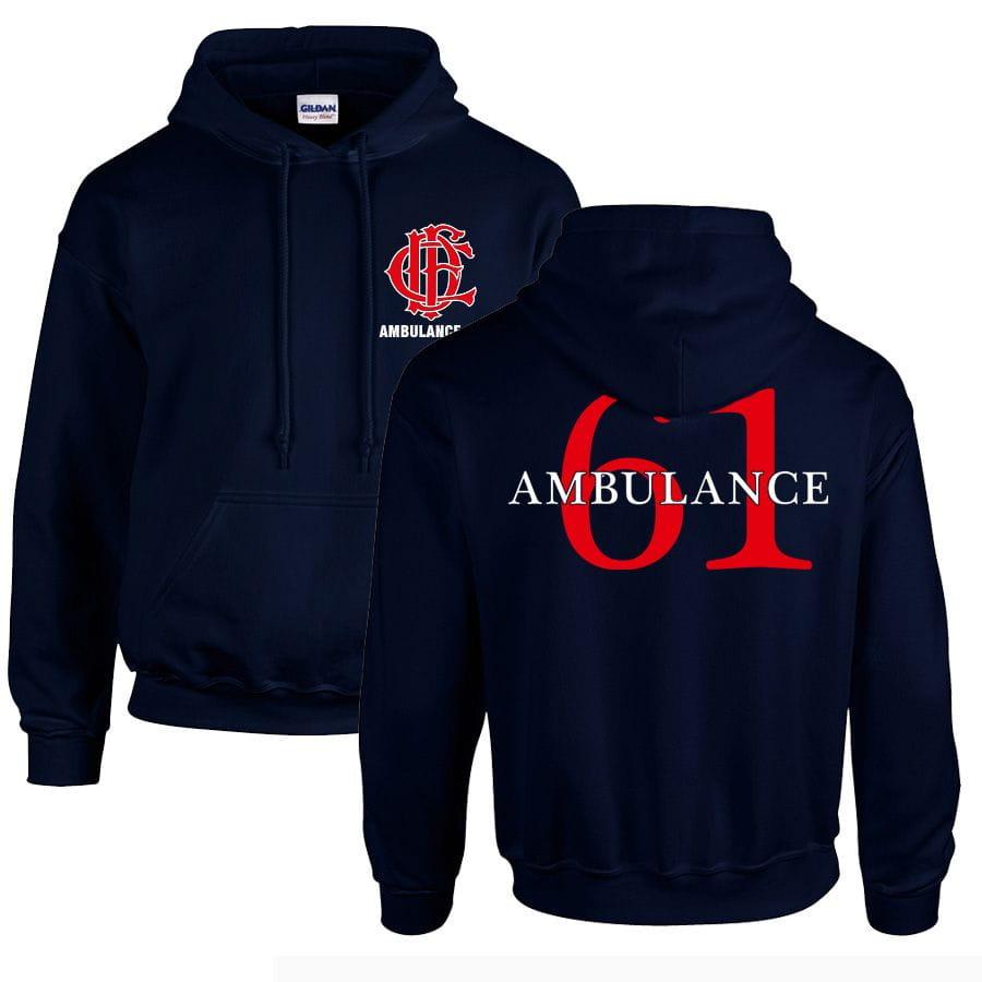 Chicago Fire Dept. - Ambulance 61 Pullover mit Kapuze