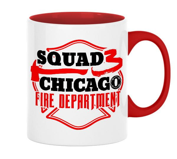 Chicago Fire Dept. - Squad 3 - Ceramic mug