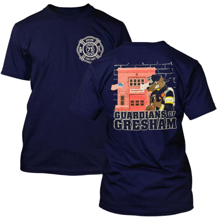 Chicago Fire Dept. - Engine 73 Gresham - T-Shirt