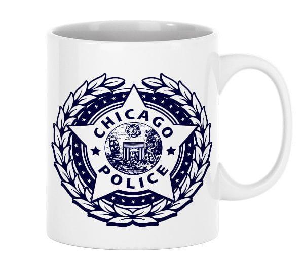 Chicago Police Dept. - ceramic cup (330ml)