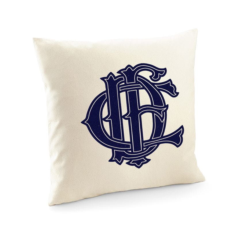 Chicago Fire Dept. cushion cover