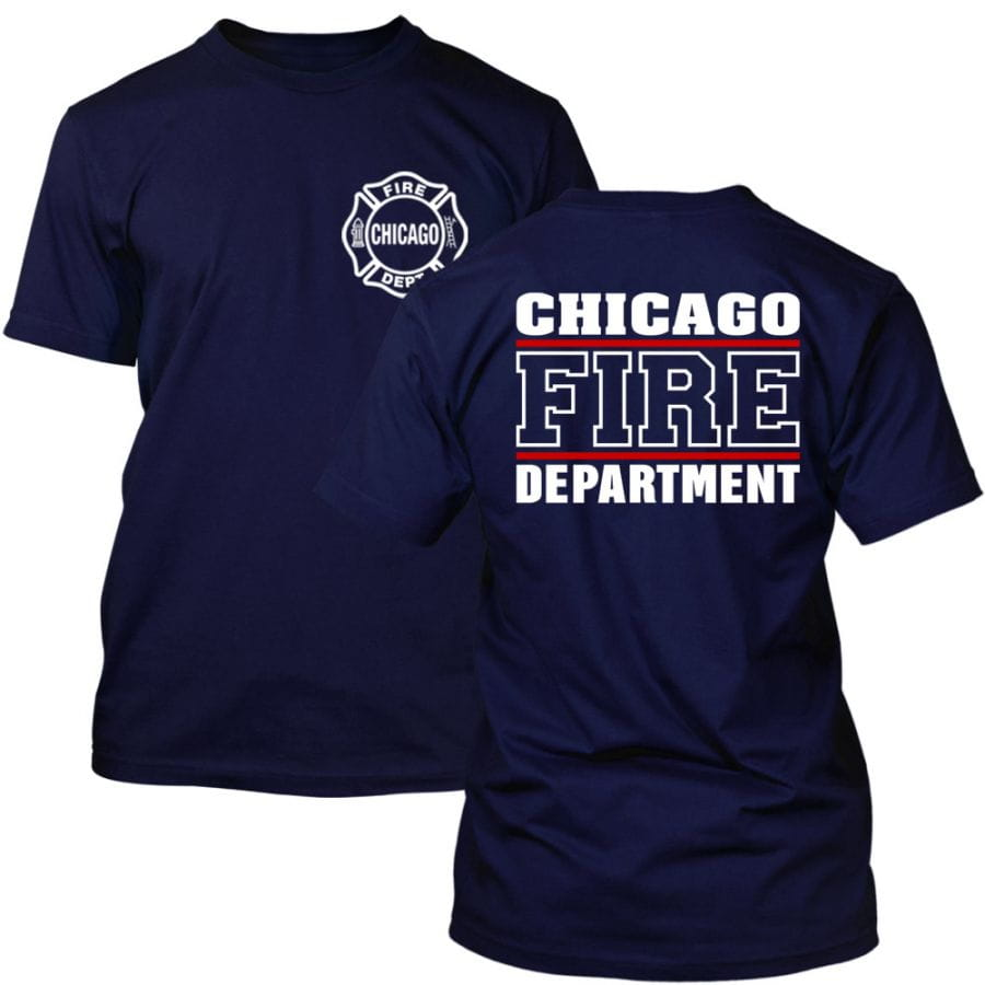 Chicago Fire Dept. - T-Shirt (Red Line)
