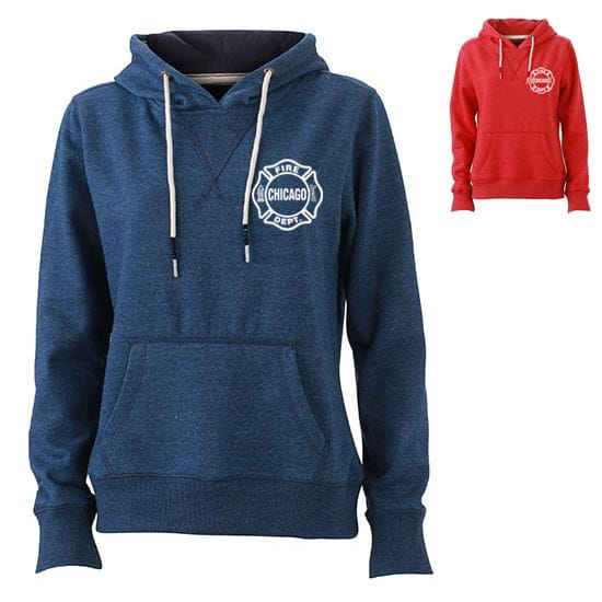 Chicago Fire Dept. - Hooded sweater for women