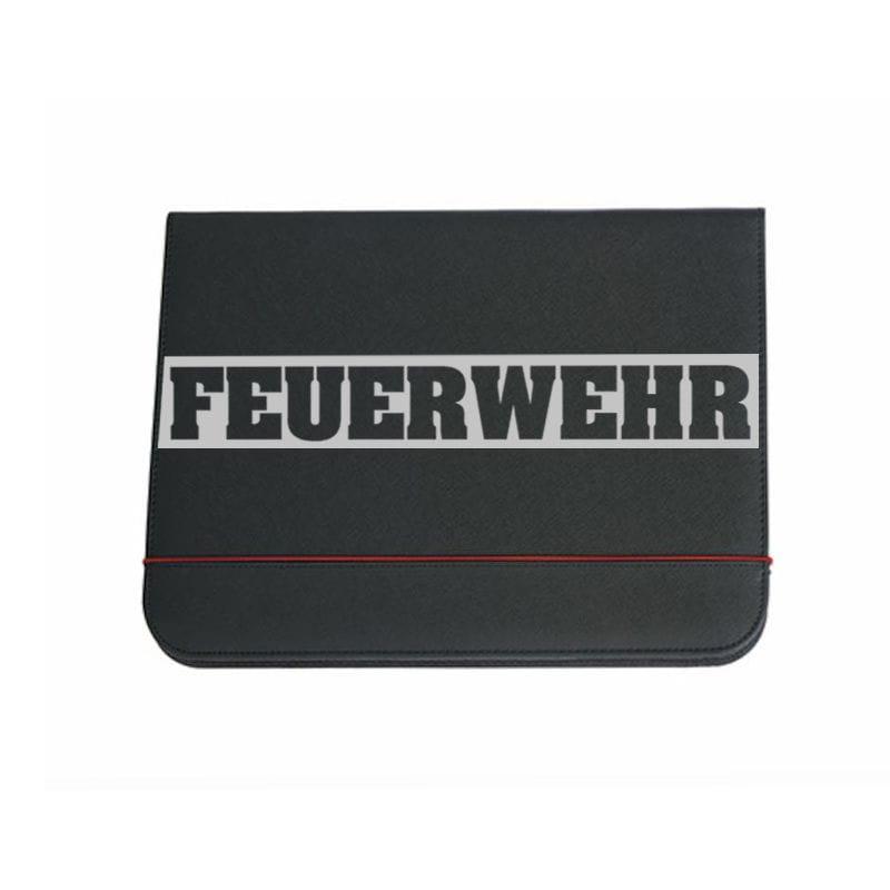 Feuerwehr Schreibmappe (Silver)