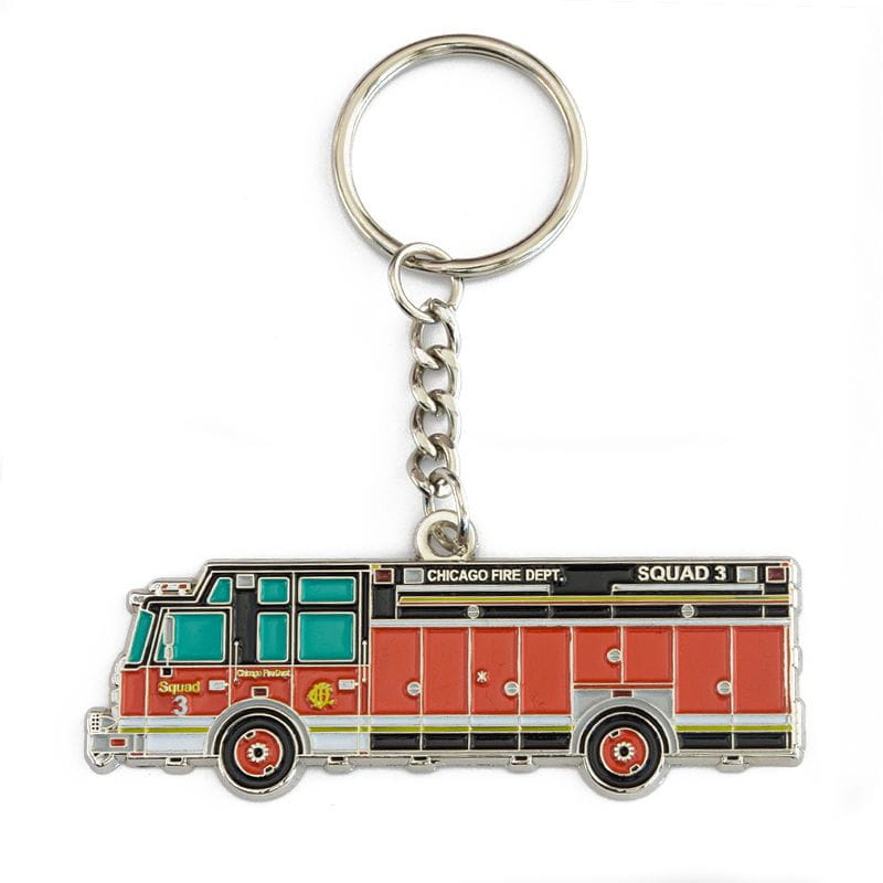 Chicago Fire Dept. - Squad 3 - Key fob