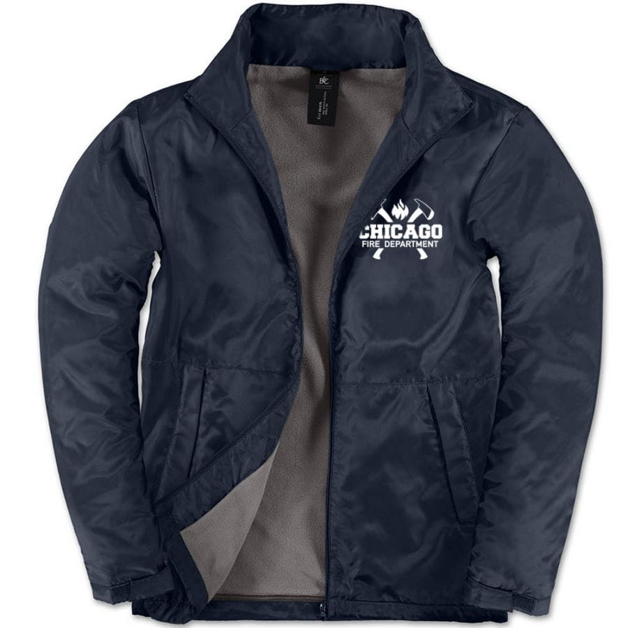 Chicago Fire Dept. - Multifunctional jacket in navy (Axe Logo)