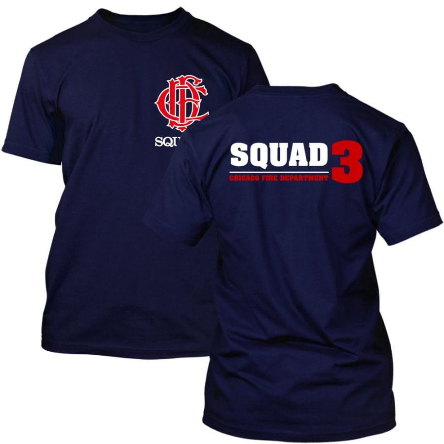 Chicago Fire Dept. - Squad 3 T-Shirt (2020)