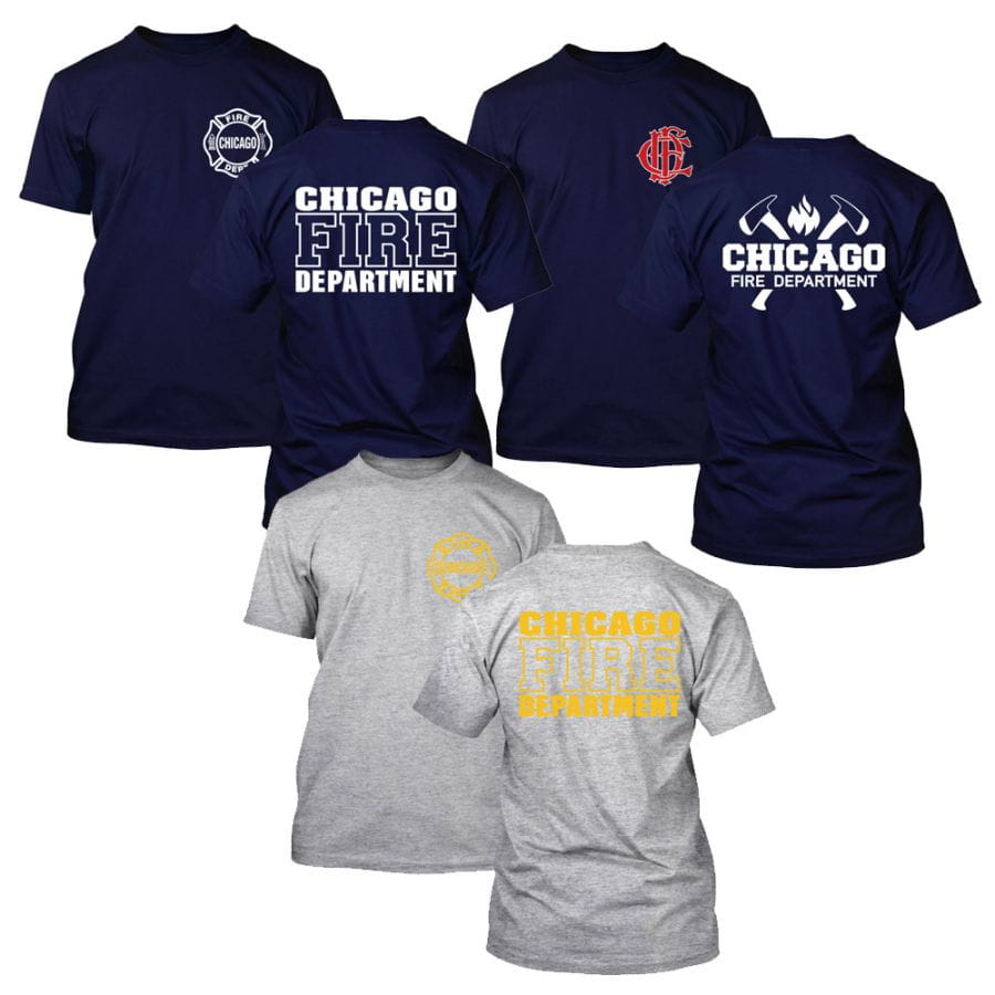 Chicago Fire Dept. - T-Shirt Spar Set