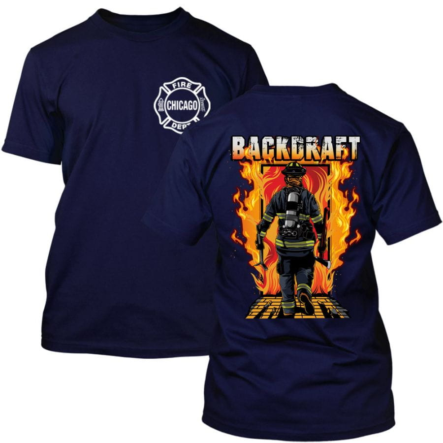 Chicago Fire Dept. - Backdraft T-Shirt