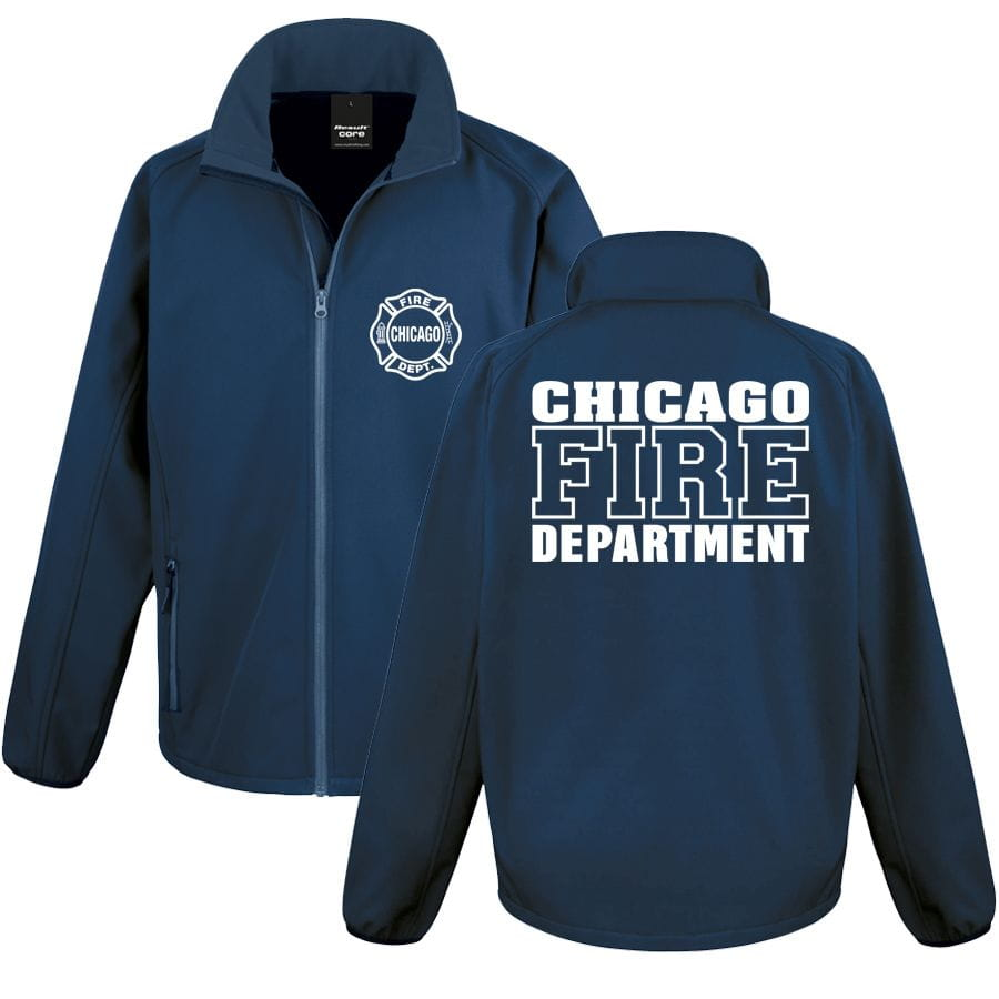 Chicago Fire Dept. Softshell Jacket