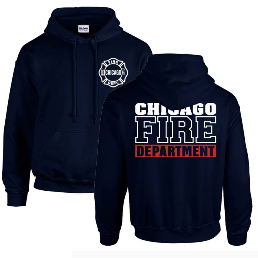 Chicago Fire Dept. - Pullover mit Kapuze